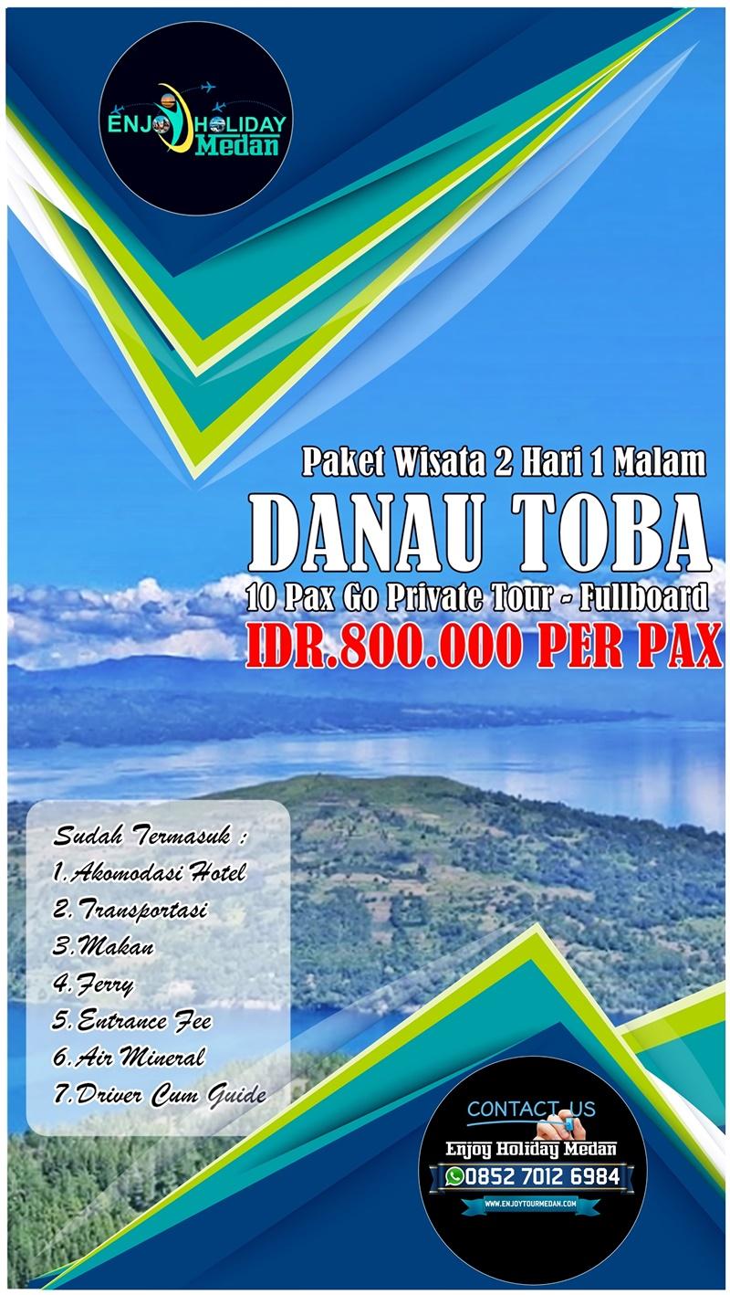 2D1N Paket Wisata Danau Toba Murah