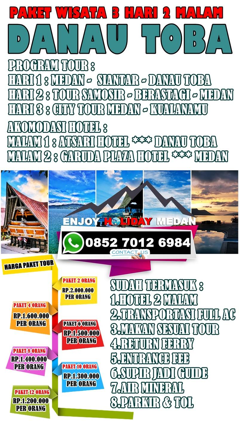 3D2N Medan Lake Toba Ground Tour