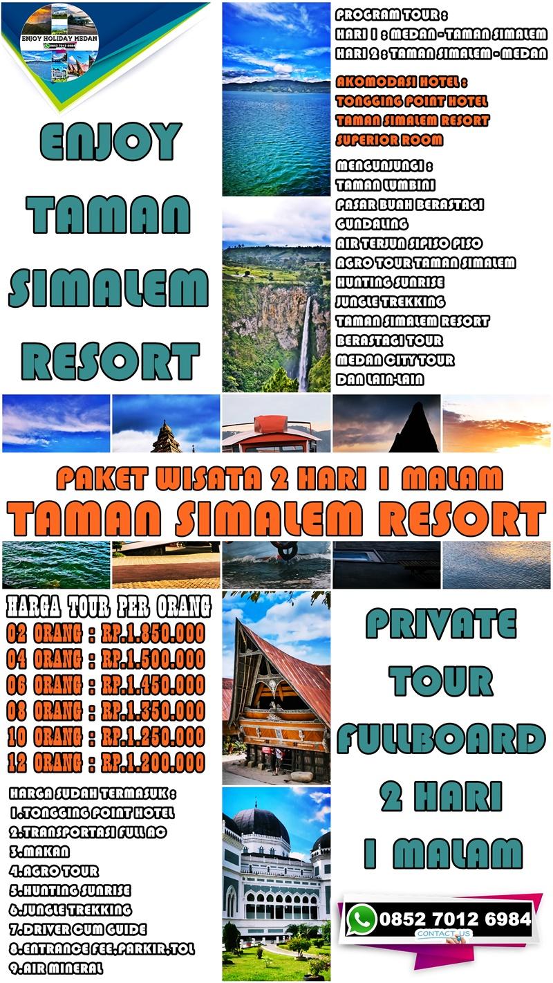 2D1N Taman Simalem Resort Tour