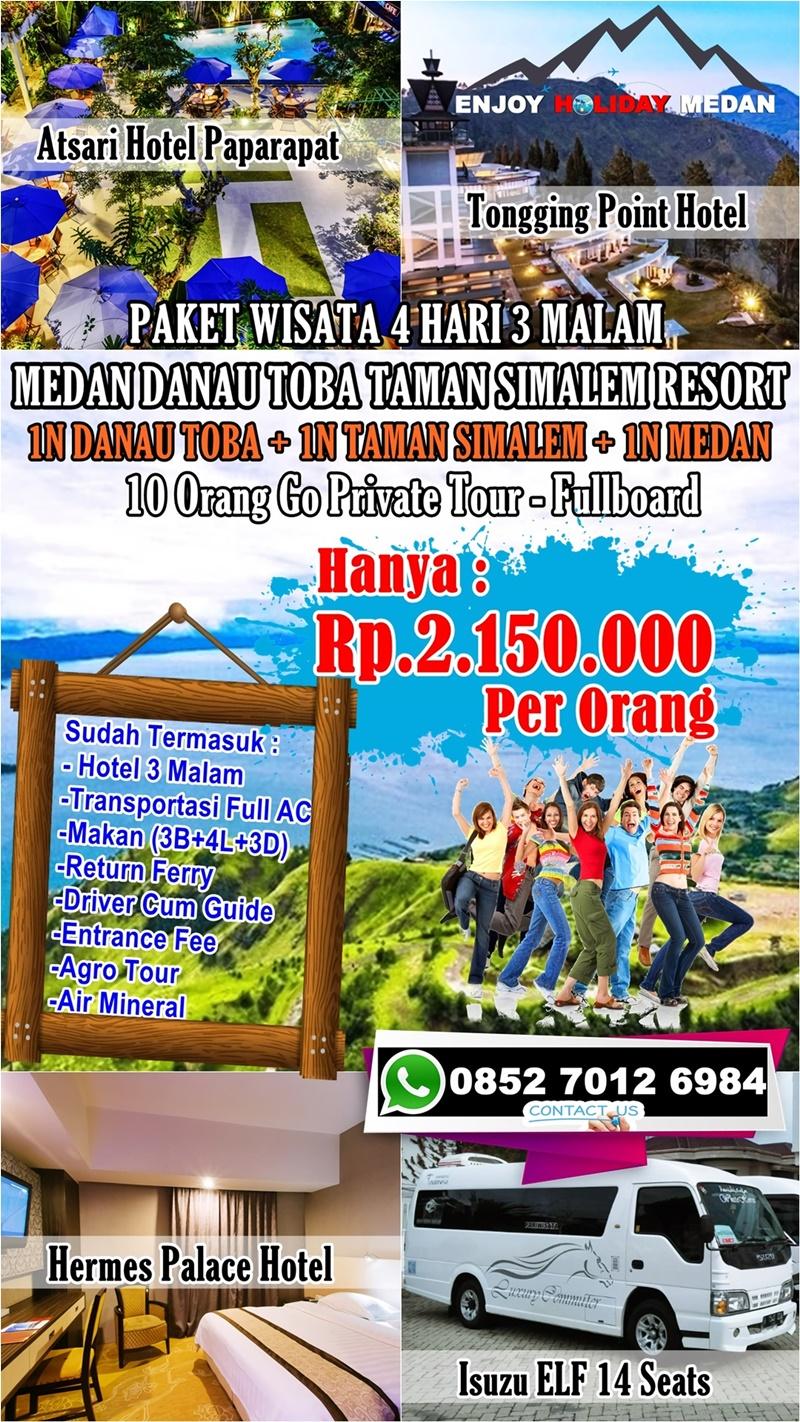 4D3N Honeymoon Taman Simalem Resort