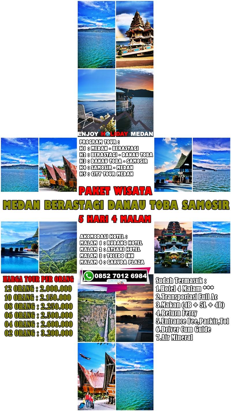5H4M Paket Tour Silangit Danau Toba