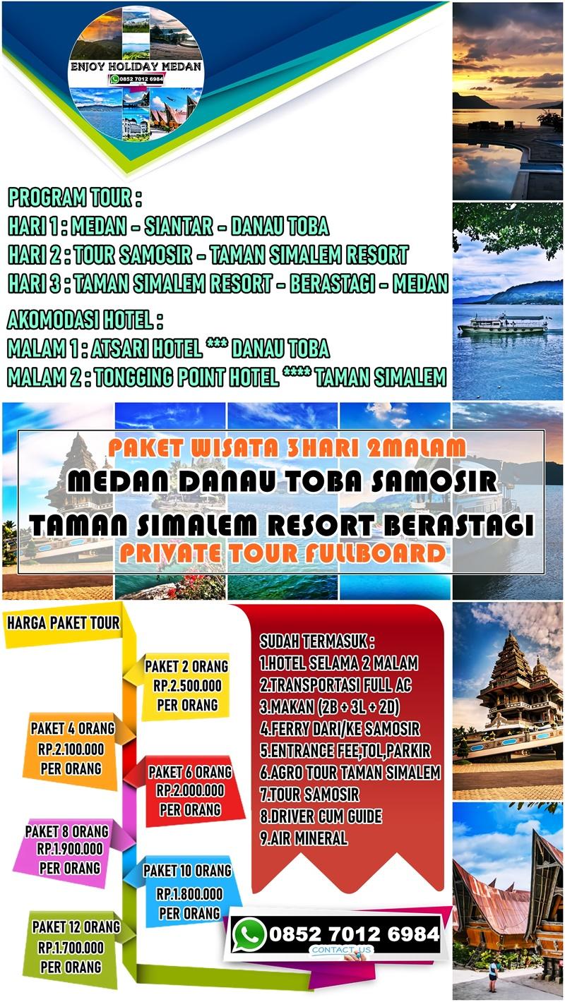 Paket Wisata Taman Simalem Resort 3D2N